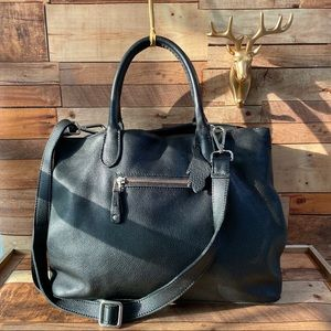 Amazing ROOTS large tote/crossbody expandable bag